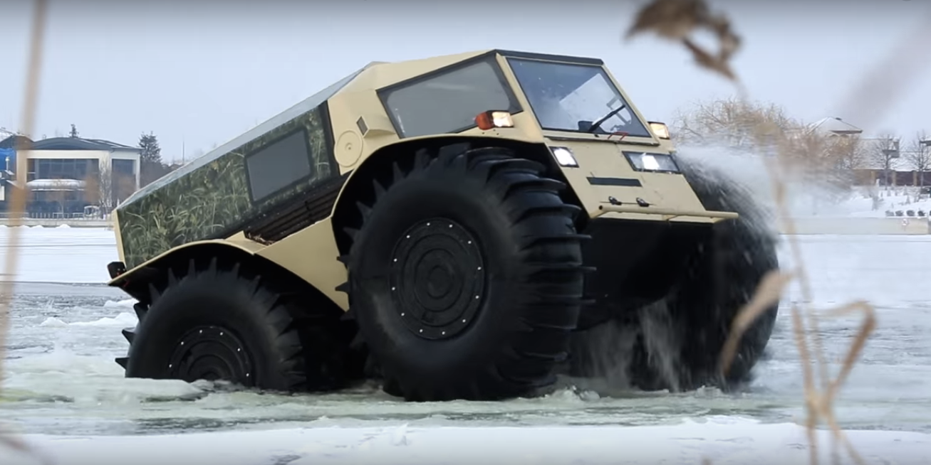 Russian Apocalypse Vehicle