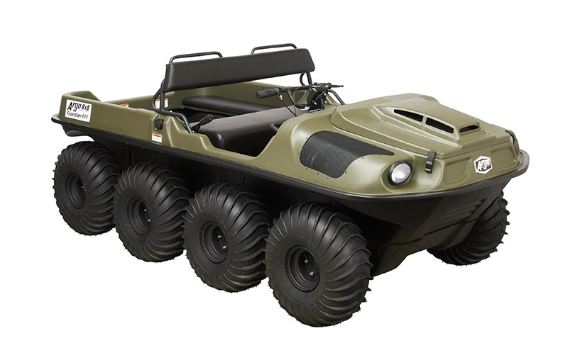 Argo 8x8 Frontier EFI Amphibious Vehicle