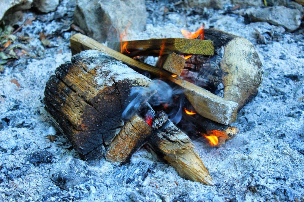 Campfire in Ash