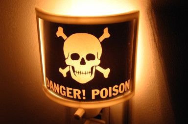 Danger Poison Light