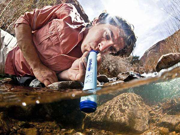 LifeStraw Survival Straw Water Filter