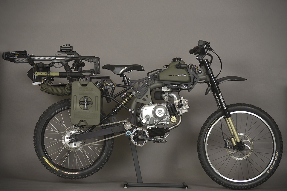 Motorped Survival Bike Black Ops Edition