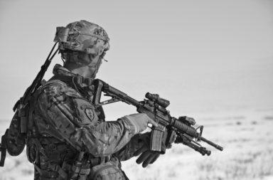 Soldier (b&w)