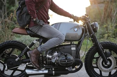 BMW R80RT Cafe Racer Motorcycle (by Vintage Room Motorcycles)