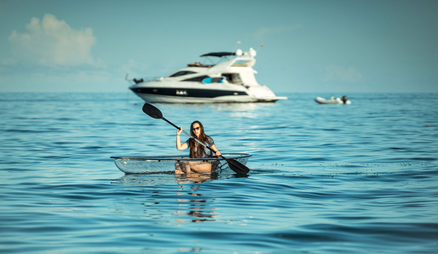 Meet The Crystal Explorer: The Best Clear Kayak on the Market