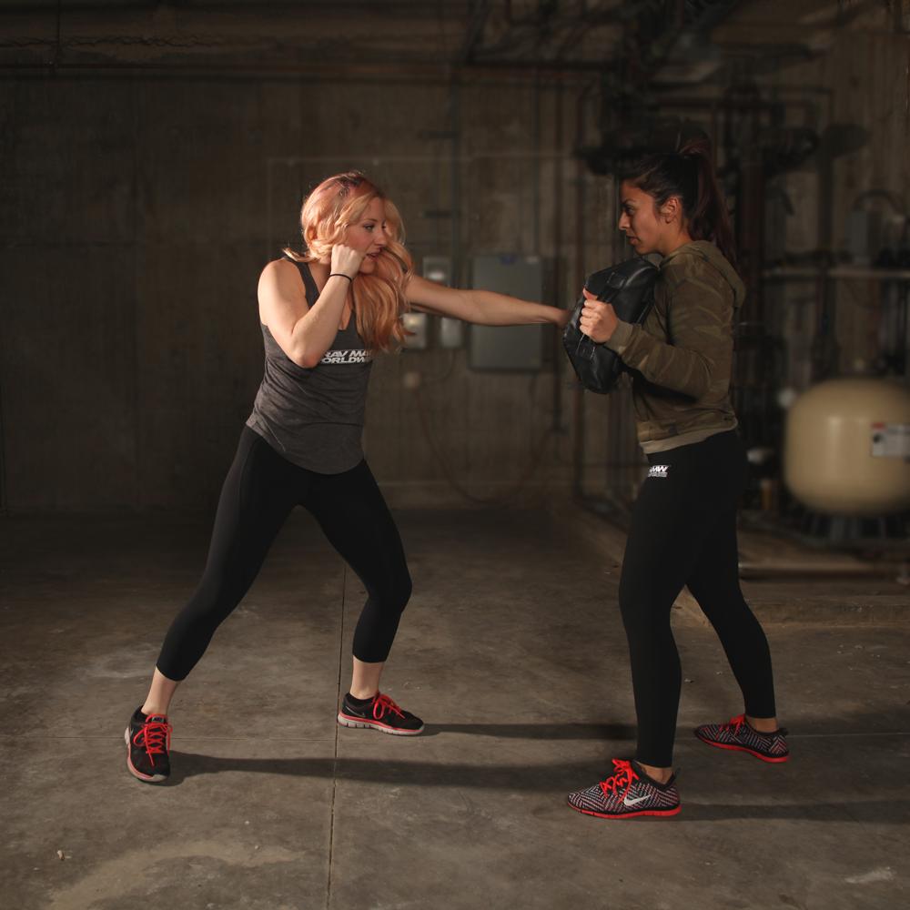 Straight Punch (self-defense technique by Krav Maga)