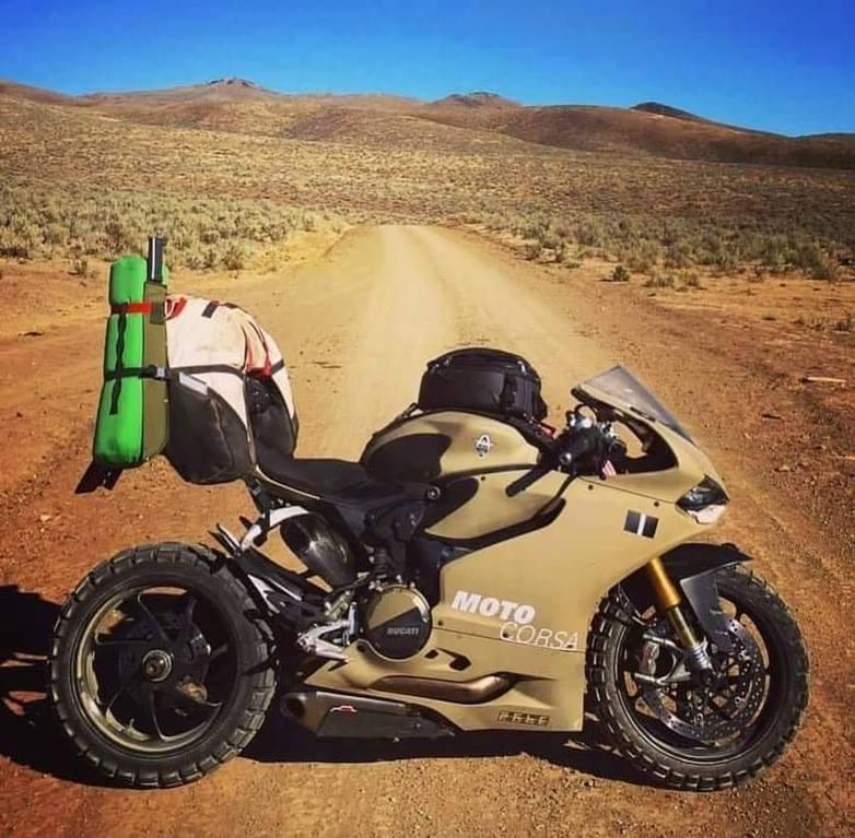MotoCorsa Ducati 1199 Panigale S Off-Road Bike