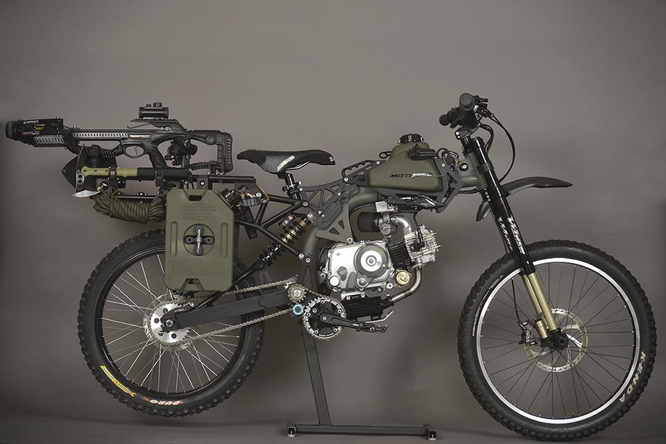 Motorped Survival Bike Black Ops Edition