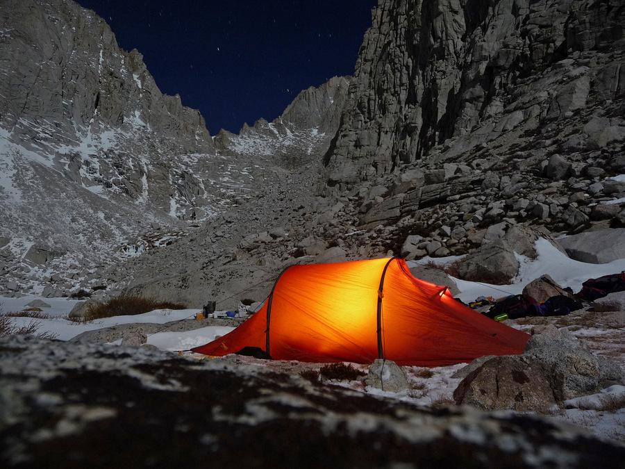Orange Tent Shelter