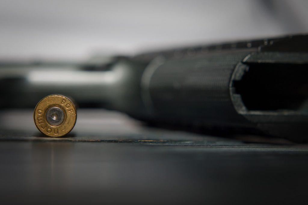 Gun Ammunition (closeup)