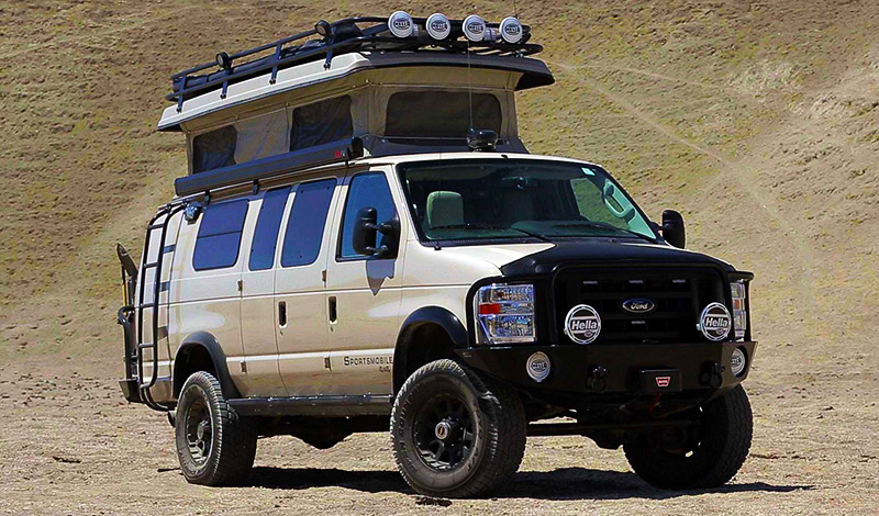 Sportsmobile 4WD Adventure Vehicle