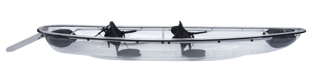 The Crystal Explorer - Clear Kayak